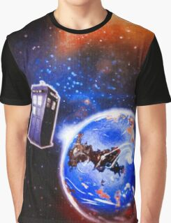 Tardis - Journeys  Graphic T-Shirt