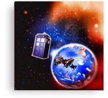 Tardis - Journeys  Canvas Print