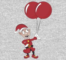 Ollie's Big Red Balloons! Baby Tee