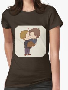 """Cherik - """"There's good in you too."""" Womens Fitted T-Shirt"""
