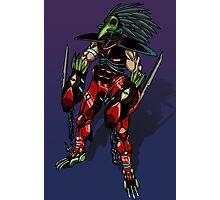 Cyborg assassin Photographic Print