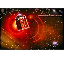 The Doctor's first and only companion Photographic Print