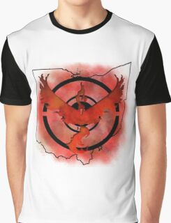Pokemon Go Team Valor Ohio Graphic T-Shirt