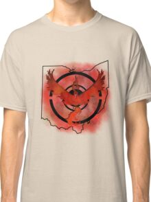 Pokemon Go Team Valor Ohio Classic T-Shirt