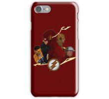 Flash Season 1-3 iPhone Case/Skin
