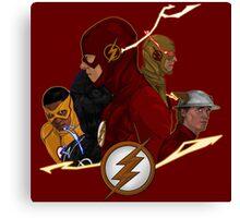 Flash Season 1-3 Canvas Print
