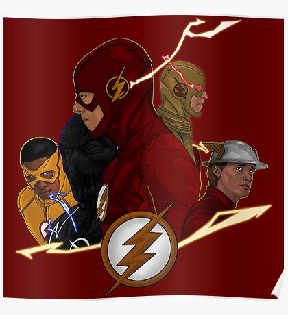 Flash Season 1-3 Poster