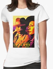 CHINATOWN 4 Womens Fitted T-Shirt