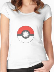 Classic Pokeball (large) Women's Fitted Scoop T-Shirt