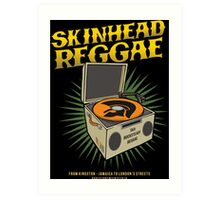 "SKINHEAD REGGAE "" VINYL DECK "" Art Print"