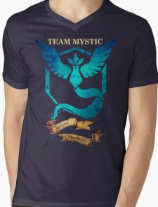 Team Mystic - Mystic Managed Mens V-Neck T-Shirt