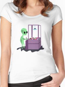 ET Machine Women's Fitted Scoop T-Shirt