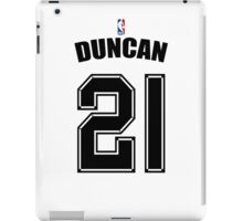 DUNCAN 21 NBA iPad Case/Skin