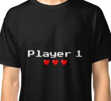 Player 1 couple's logo - Black background Classic T-Shirt