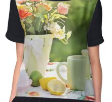 summer still life Chiffon Top