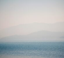 Misty Tahoe, Blue Ombre by STUDIOCLAIRE