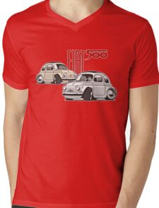 Fiat 500 personalized for Olivia Mens V-Neck T-Shirt