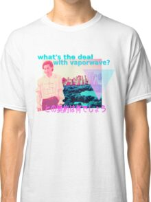 what's the deal with vaporwave? Classic T-Shirt