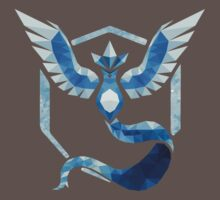 Team Mystic Low Poly One Piece - Short Sleeve