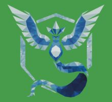 Team Mystic Low Poly Kids Tee