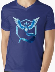 Team Mystic Low Poly Mens V-Neck T-Shirt