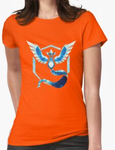 Team Mystic Low Poly Womens Fitted T-Shirt