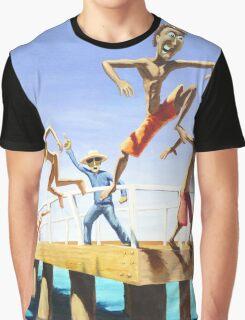 Pier Jump Graphic T-Shirt