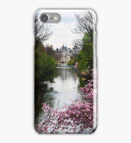 View to a Palace in Spring (London) iPhone Case/Skin