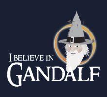 I believe in Gandalf Kids Tee