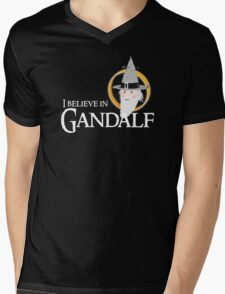 I believe in Gandalf Mens V-Neck T-Shirt