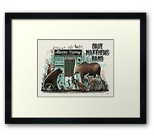 Dave Mattews Band Alpine Valley Music Theatre, Elkhorn, WI 2 Framed Print