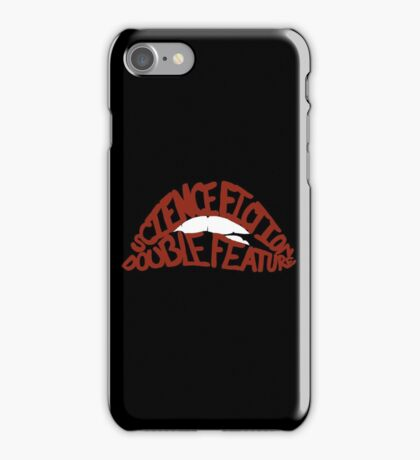 Science Fiction Double Feature iPhone Case/Skin