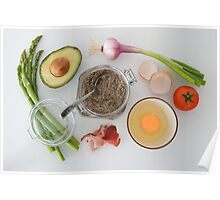 breakfast Preparations  Poster