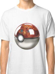Pokeball Crystal Ball - Charizard Classic T-Shirt