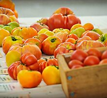Heirloom Tomatoes by kchase