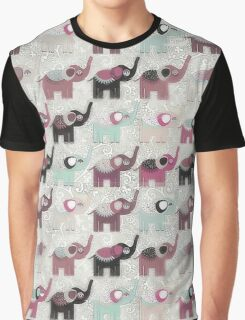Baby Elephant Walk - Bohemian Style by Chocolate River Brand Graphic T-Shirt
