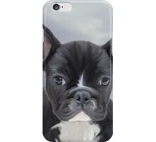 Cute French Bulldog Water Color Art Painting iPhone Case/Skin
