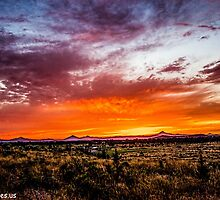 Sunset 32 by Richard Bozarth