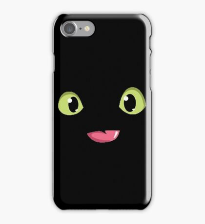 Toothless Poking out Tongue  iPhone Case/Skin