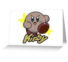 Kirby Nintendo Greeting Card