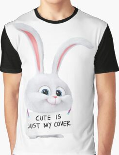 Snowball - Cute is just my cover Graphic T-Shirt