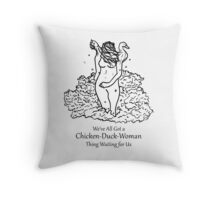 Bushes Of Love Throw Pillow