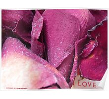 Love And Rose Petals Poster