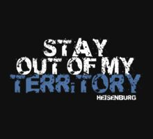 Stay out of my Territory - Heisenberg - Breaking Bad by That T-Shirt Guy