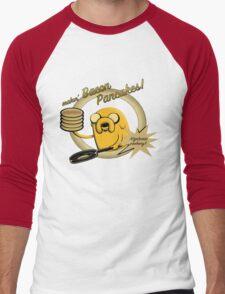 Makin Bacon Pancakes - Adventure Time Jake Men's Baseball ¾ T-Shirt