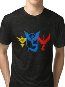 Pokemon Go All Teams Tri-blend T-Shirt