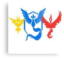 Pokemon Go All Teams Metal Print