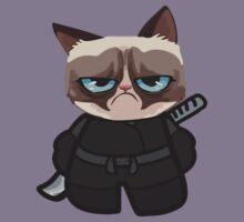 Grumpy Ninja Cat Kids Clothes
