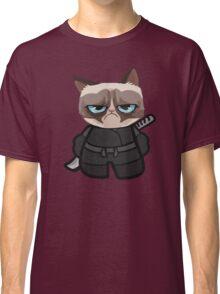 Grumpy Ninja Cat Classic T-Shirt