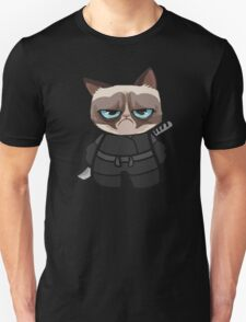 Grumpy Ninja Cat Unisex T-Shirt